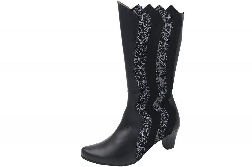 Maria schuhe Damen elegante Stiefel Schuhe Leder 205031