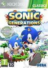 Sonic Generations - Classics Microsoft Xbox 360 SEGA