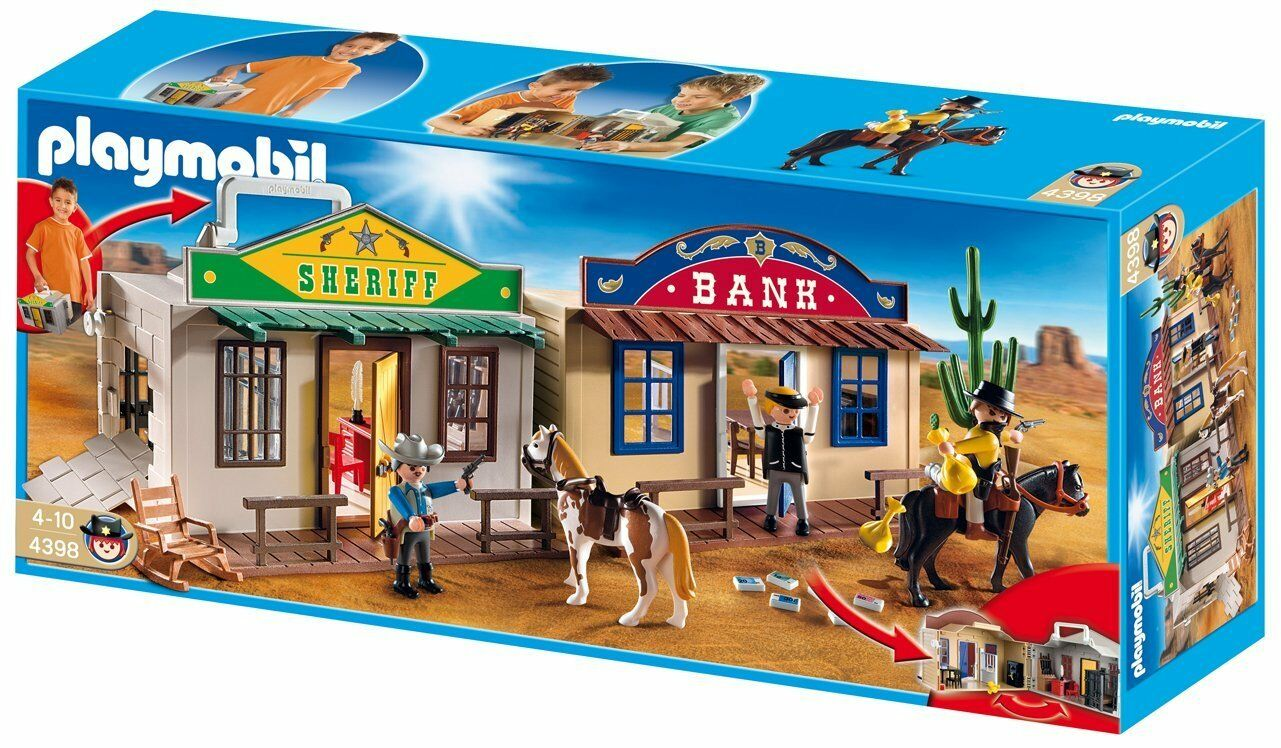 Playmobil Western 4398 Maletín del Oeste - - - New and ...