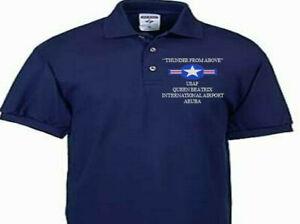 QUEEN BEATRIX INTERNATIONAL AP ARUBA USAF EMBROIDERED POLO SHIRT/SWEAT/JACKET.