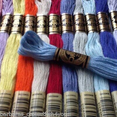 DMC Stranded fil de coton couleur 721 pour broderie et point de croix