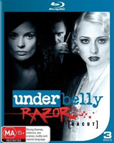 1 of 1 - Underbelly - Razor - Blu-ray - Brand New + Sealed - fast free post