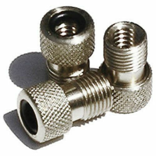 converts or aadapts Presta to Schrader Innovations ALLOY Valve Stem Adapters