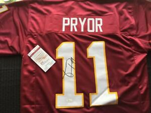 Details about Terrelle Pryor Autographed Redskins Jersey