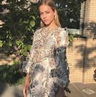 $1950 RUNWAY Zimmermann Adorn Tie Up Dress Indienne lace 0 1 2 3