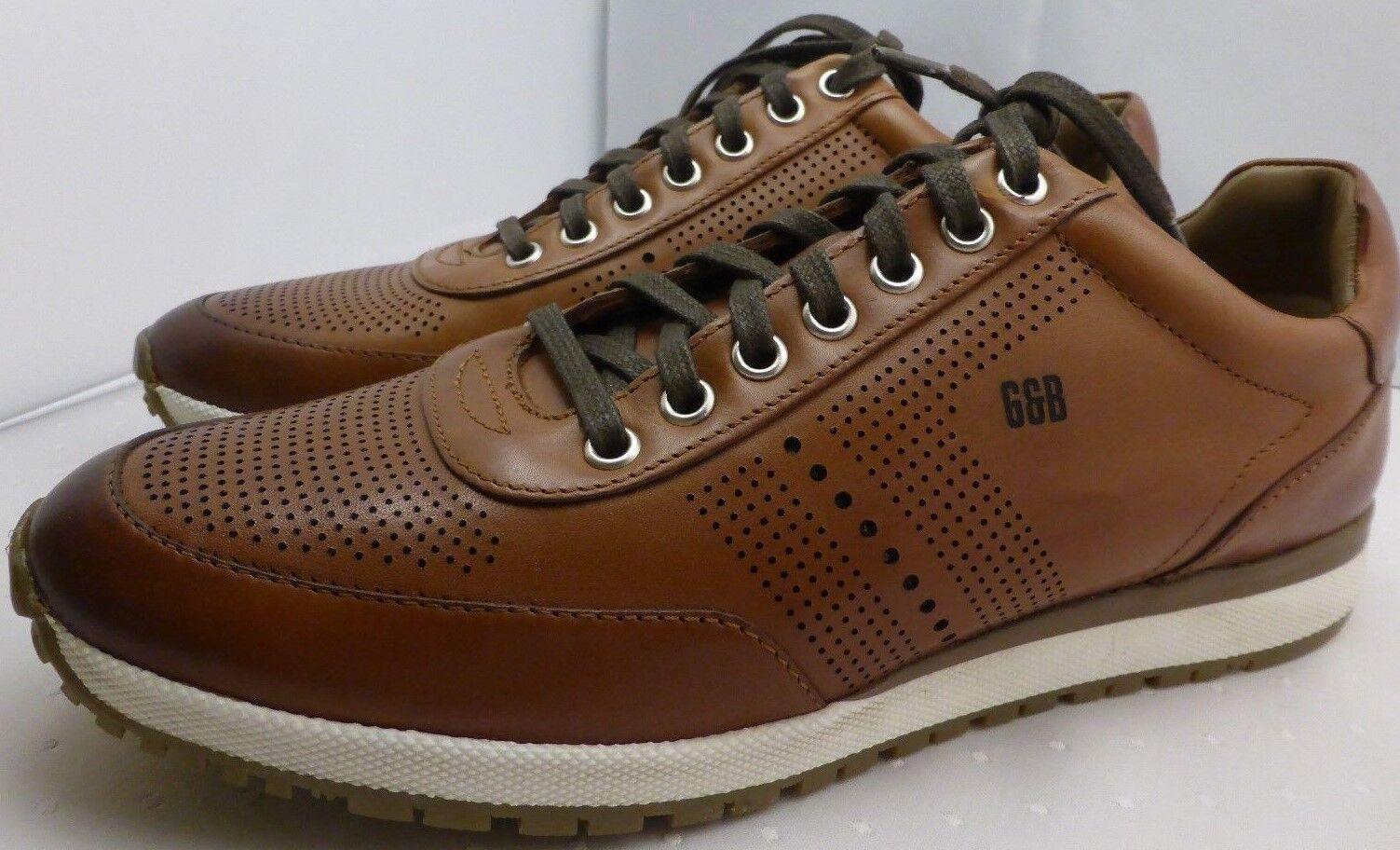 Señores zapatillas Gordon & Bros New conte cognac marrón NUEVO