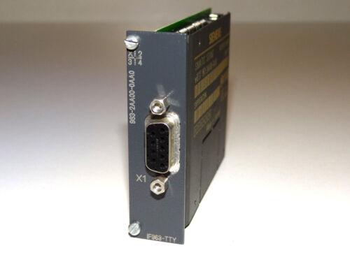 Siemens Simatic s7 6es7963-2aa00-0aa0 Interface-módulo if963-tty Top