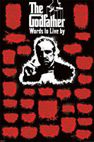The Godfather Marlon Brando Words To Live By 24x36 Poster Print A0129