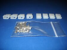 3 Pin Molex Connector Kit 4 Sets With18 24 Awg 062 Pins Free Hanging 0062