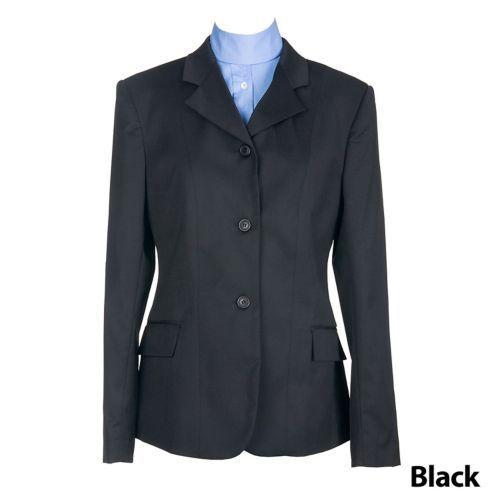 Devon-Aire Damas  Elastizadas nuevo de poliéster lana abrigo Tamaño 14L, Negro  mejor marca