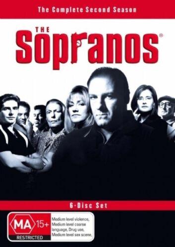 1 of 1 - The Sopranos : Season 2 ( 6-Disc Set) -VERY GOOD CONDITON FREE POST AUS REGION 4