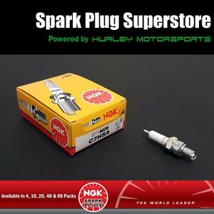 20 NGK Standard Spark Plugs CR7HSA Threaded Stud Qty Stock #4549