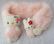 Official Sanrio Smiles Hello Kitty Pastel Pink Scarf Soft Plush Toy Japan Kawaii