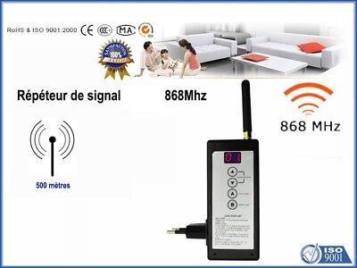 Répéteur de signal Alarme 868Mhz 500m FOCUS MEIAN Autre PB-204R