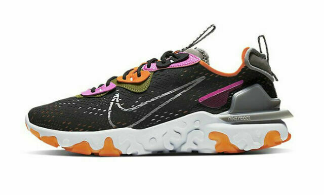 Size 9.5 - Nike React Vision Orange Fuchsia for sale online | eBay