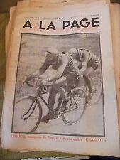 A la page N°19 Juillet 1930 Leducq Charlot