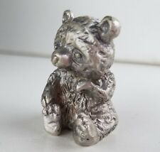 WHOLESALE...Pewter Teddy Bear Figurine (Lot of 10)