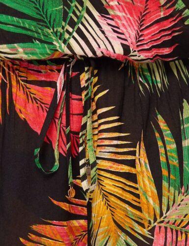 Nuevo M/&S Autógrafo Rosie Envoltura De Hoja De Palmera Playa falda SZ Reino Unido 8 /& 10