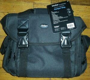 Vivitar-Large-Gadget-Bag-for-SLR-Cameras-Black