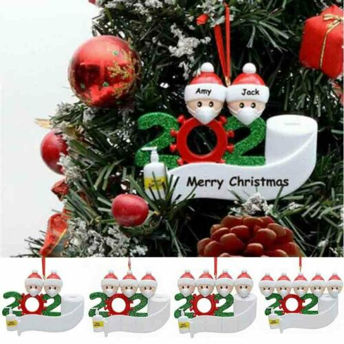 Family Hanging Personalized Xmas Christmas Ornaments Ornament 2020