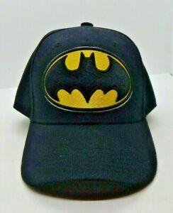 D/C Comics Batman Logo Black Snapback Adjustable Cap/Hat