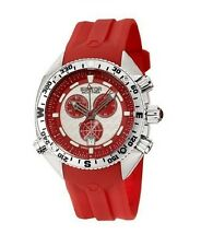 SECTOR OCEAN MARINE YACHT MASTER TIMER Chrono SWISS Red White Watch R3271966015