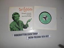 """7"""" senti Grethe Weiser parla K Tucholsky-il Lottchen (3 testi) DT DeutscheGrammophon"""