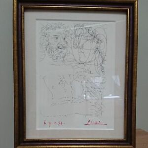 Picasolithograph-world-limited-item-autographed-item-from-JAPAN-Free-shipping