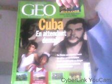 GEO N°339 Mai 2007 Cuba En attendant demain- Les murs vegetaux a l'assaut des...