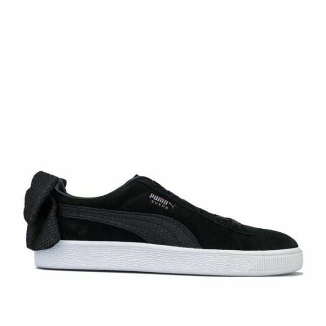 PUMA Suede Suede Bow Uprising Trainers
