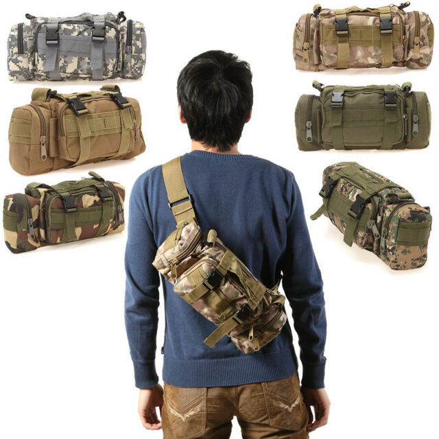 3P Military Assault Combined Backpack Rucksacks Sport Mens Camping Waist Bag