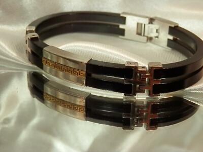Meandors Gestempelt Vintage 604ms Edelstahl Cooool Modernist Unisex-armband Aromatischer Geschmack