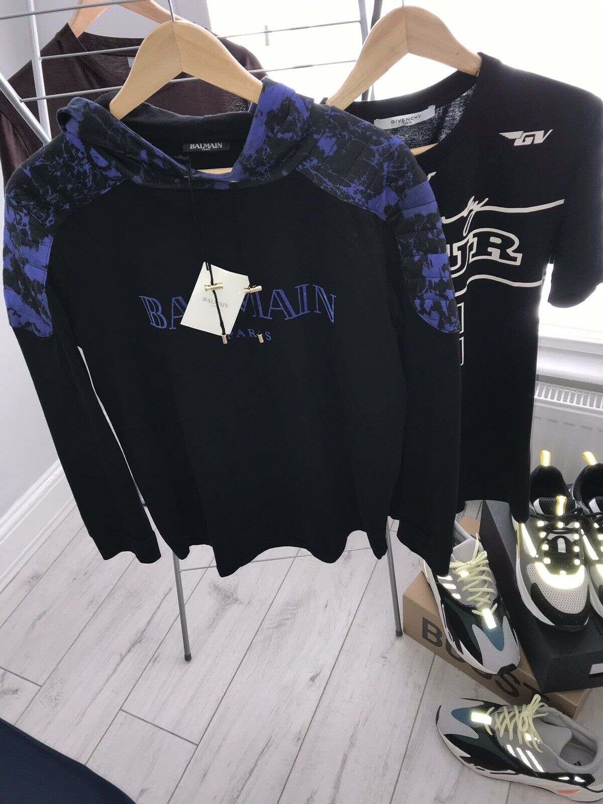Balmain Hoodie - Authentic - Size M - Worn Once, With Tags - RRP