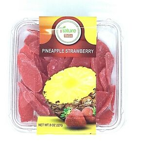 Nature-To-Go-Dried-Fruit-Pineapple-Strawberry-8-oz-Fresh-and-New