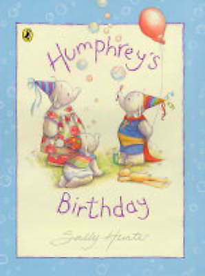 """1 of 1 - """"VERY GOOD"""" Humphrey's Birthday (Picture Puffin), Hunter, Sally, Book"""