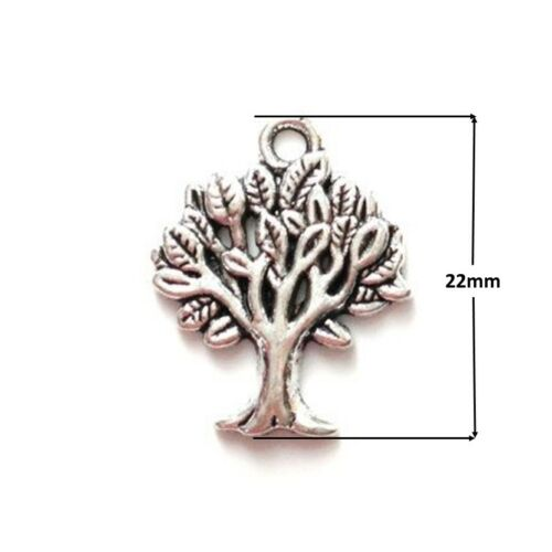 20 x Whomping Tree Tibetan Silver Tree of Life Pendant Charms Harry Potter