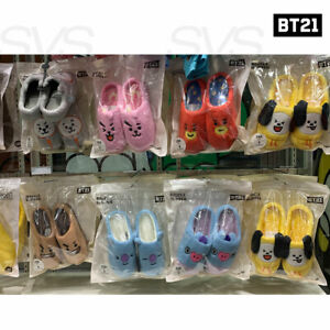 BTS-BT21-Official-Authentic-Goods-Boucle-Slipper-230-250mm-Tracking-Number