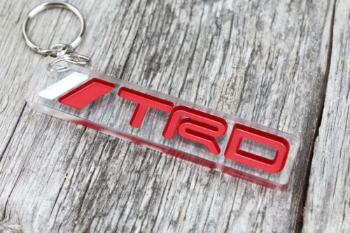 Toyota TRD keychain JDM Tundra  COROLLA porta-chaves custom badge keyring