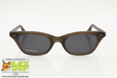 Blue Bay By Safilo B&b 38/s 2nt Wayfarer Cat Eye Sunglasses Gray Traslucent, Nos