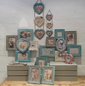 Vintage Chic Multi Frame Picture Collage Photo Frames