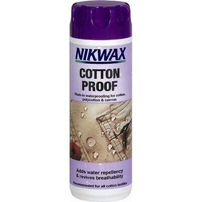 NIKWAX COTTON PROOF Wash-in waterproofing for CANVAS TENTS AWNINGS
