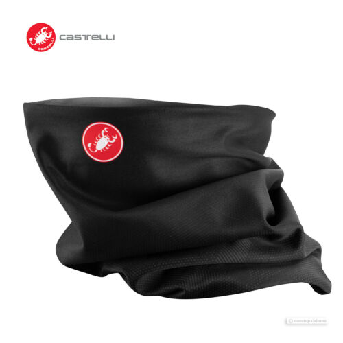 Castelli PRO THERMAL W HEAD THINGY Multi-use Face Mask Neck Wrap LIGHT BLACK