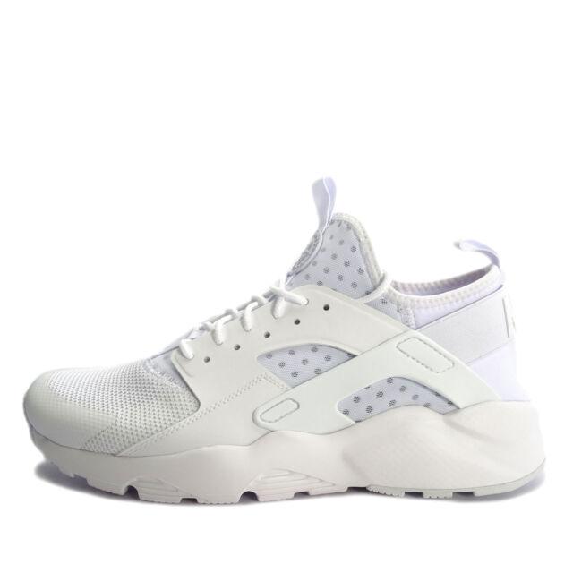 Nike Air Huarache Run Ultra Mens Shoes Size 10 White Jordan NMD Max ...