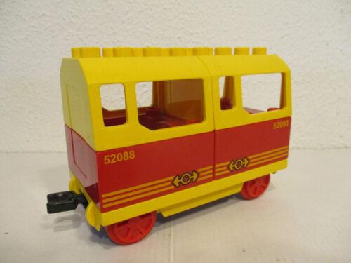 Anhänger  AUSWAHL LEGO DUPLO Eisenbahn Personenwagen Güterwagen Waggon A10