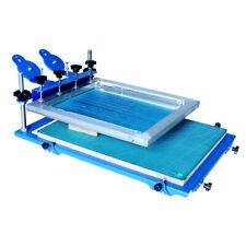 3d Screen Printing Machine Micro Adjust Silk Screen Printing Press 18x24 Inch