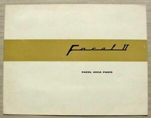 FACEL-VEGA-FACEL-II-Car-Sales-Brochure-1962-French-English-German-Text
