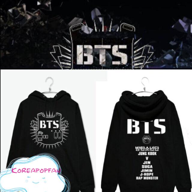 Bangtan Boys kpop BTS Kpop unisex hoodie  jungkook jimin jin v suga New