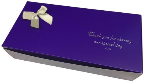 Wedding Party Favours Purple Indian Sweet Boxes for Births,Birthday celebrations
