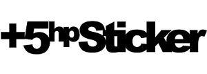 5hp-sticker-5hpsticker-5hp-pegatina-aufkleber-vinilo-vinyl-18-colours