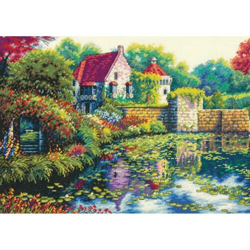 Dimensions Cross Stitch Kit English Castle